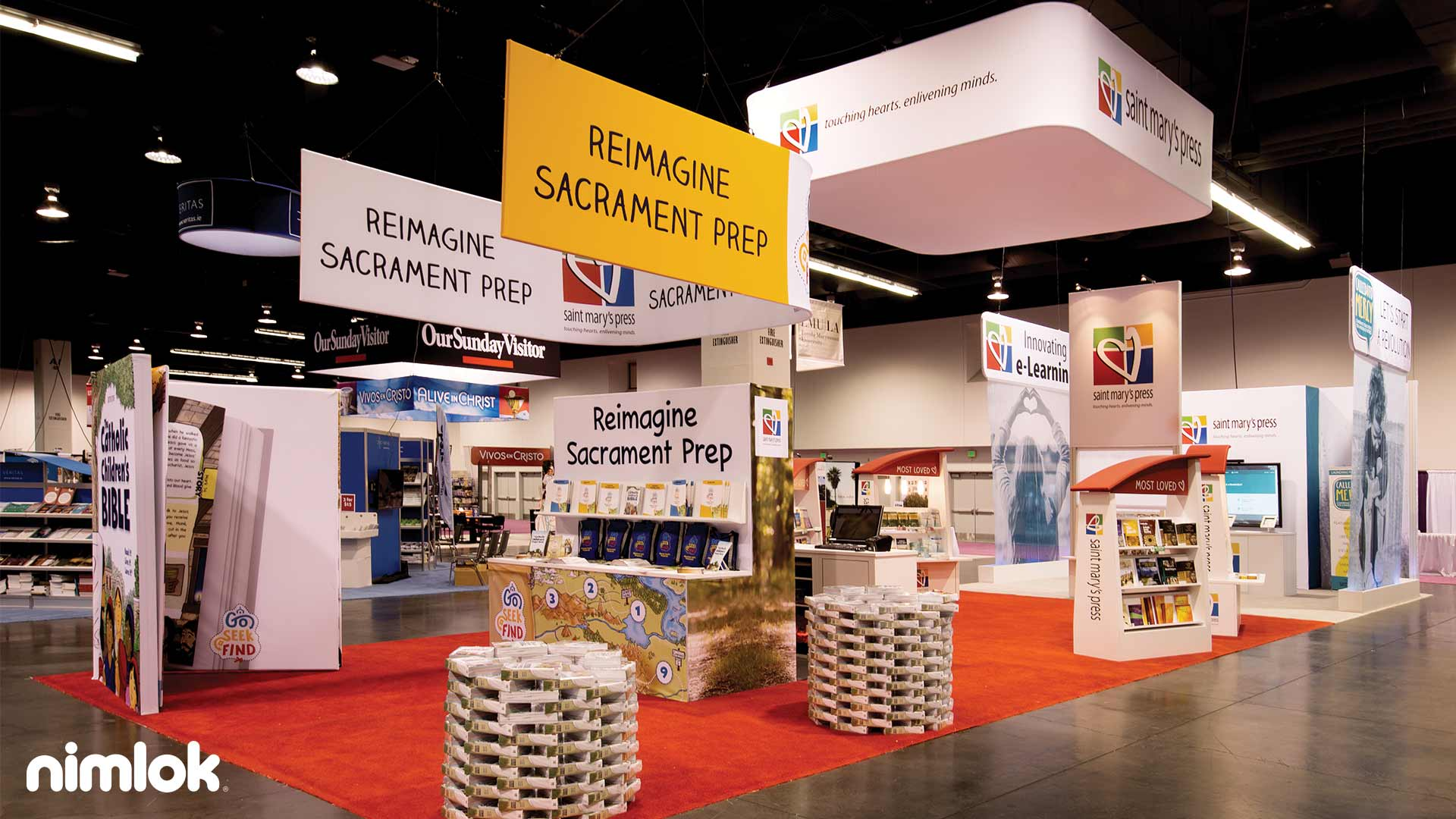 Exhibition Booth Requirements : Types of trade show displays standard booth sizes nimlok