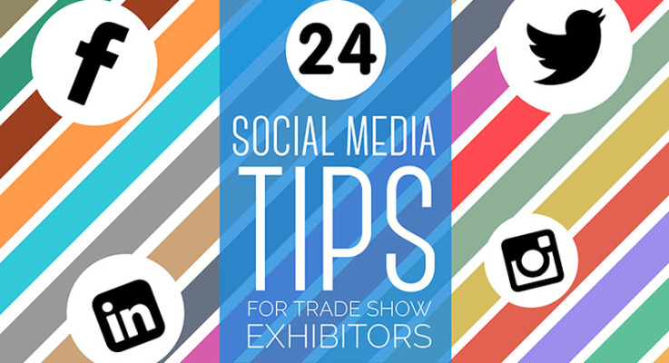 24 Social Media Tips For Trade Show Exhibitors
