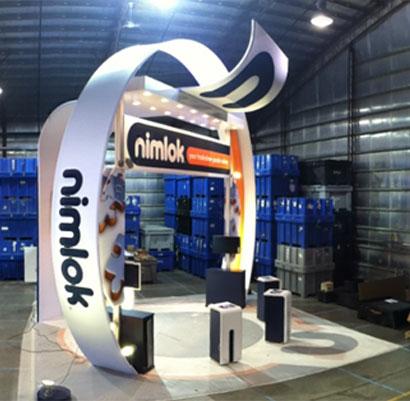 nimlok exhibitor 2013 booth