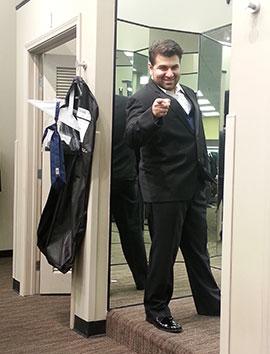 exhibitor suit