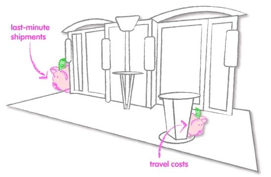 How to Avoid Trade Show Hidden Costs