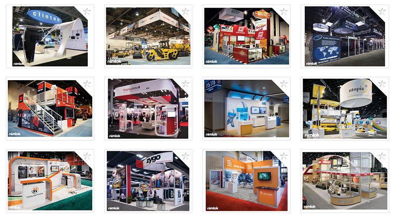 types of trade show display exhibits