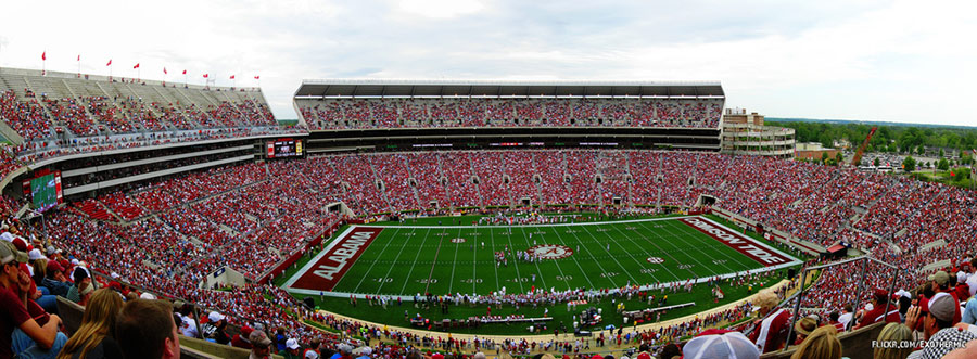 university of alabama football stadium