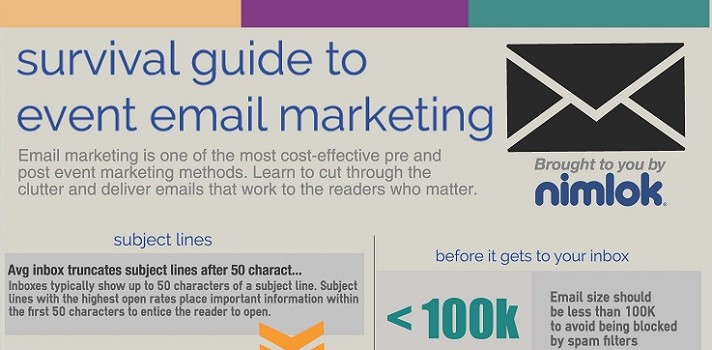 Event Email Marketing Best Practices [INFOGRAPHIC]