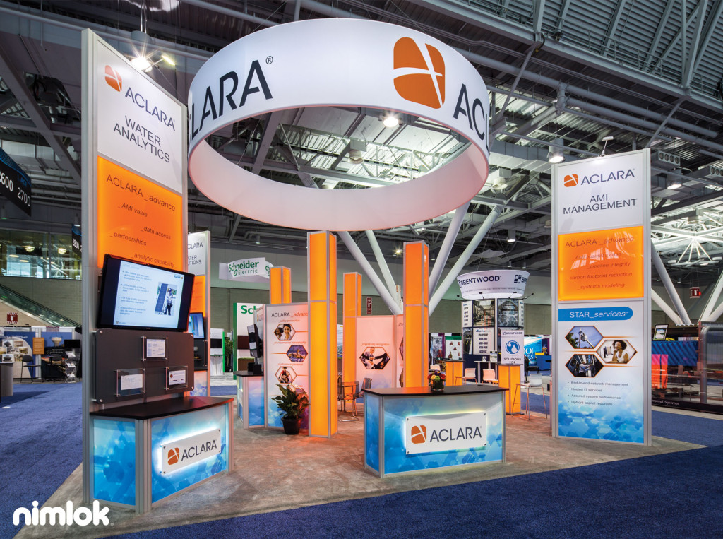 reconfigurable trade show exhibit