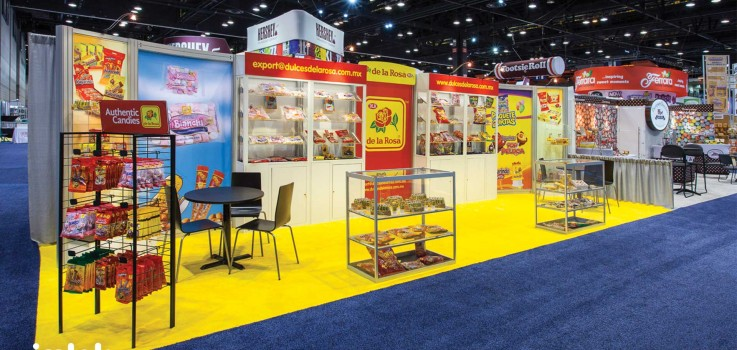 Trade Show 101: 3 Advantages of an Inline Trade Show Exhibit