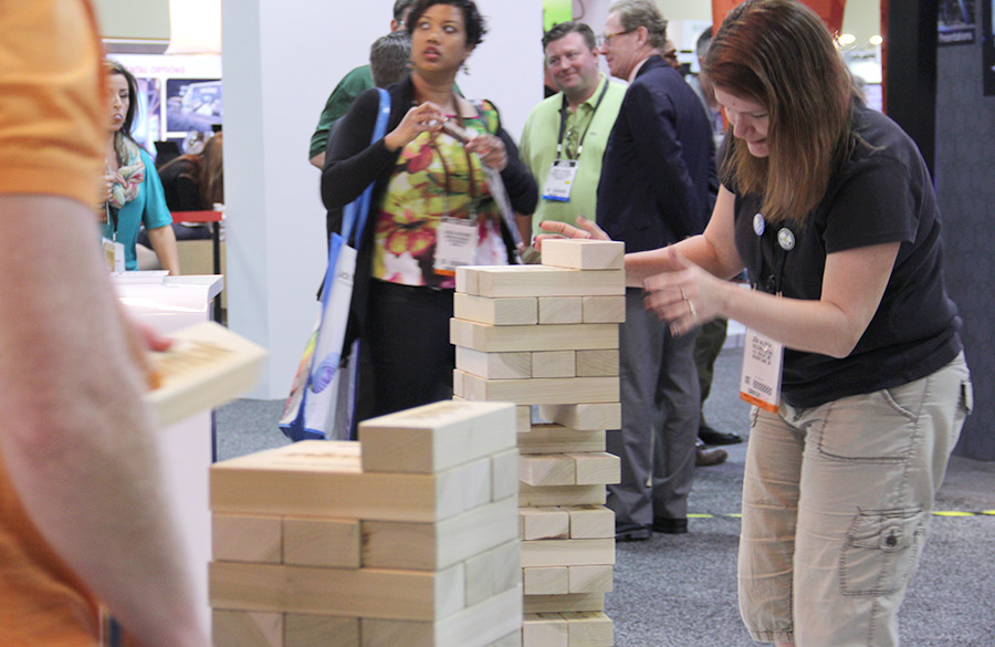 Trade Show Booth Games : How to use trade show contests games drive booth traffic