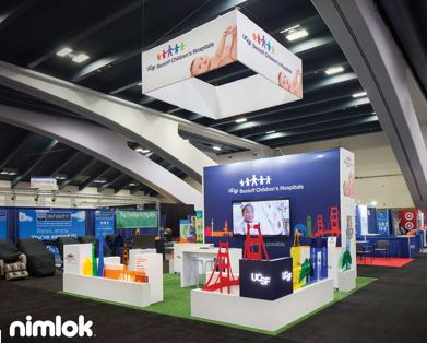 trade show graphics and color