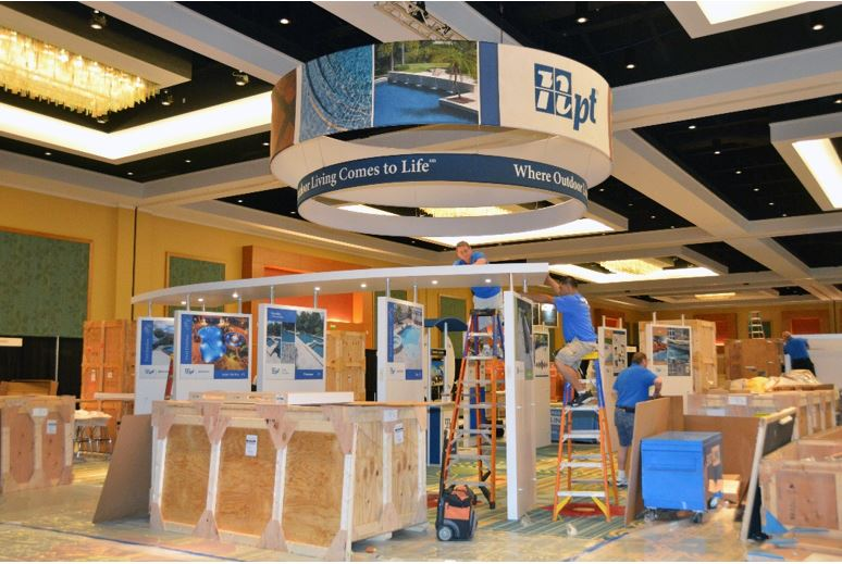 Trade Show Booth Set-Up