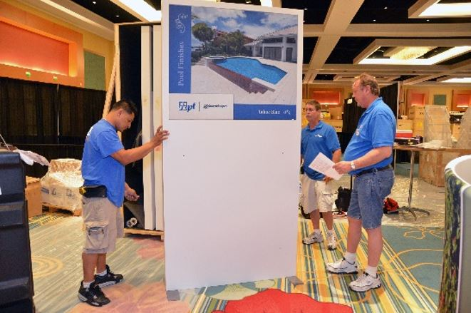 Trade Show Booth Installation