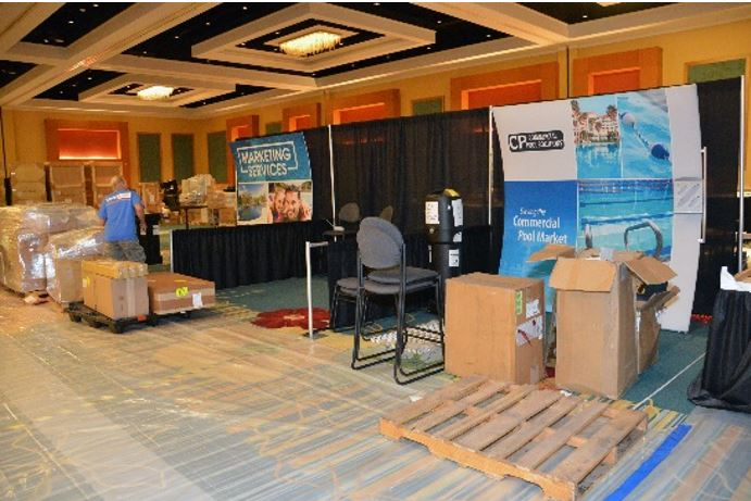 Exhibition Booth Installation : Booth installaional