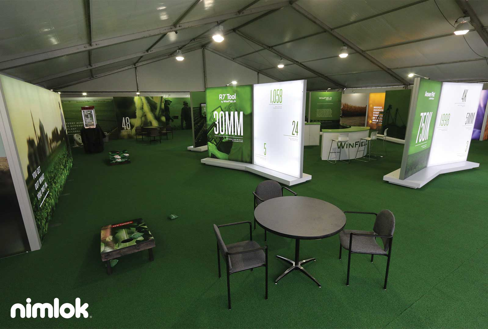 Exhibition Booth Flooring : Top creative trade show booth design examples nimlok