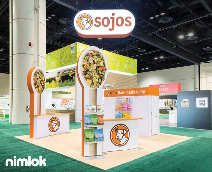 Trade Show Booth Objectives : Types of trade show displays standard booth sizes nimlok