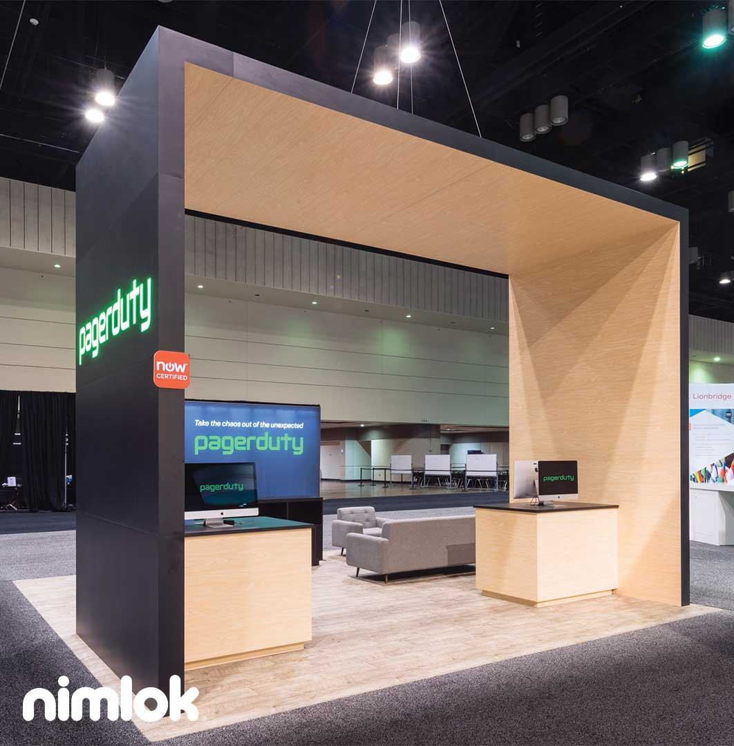 Exhibition Booth Marketing : Best of nimlok s top trade show booth designs