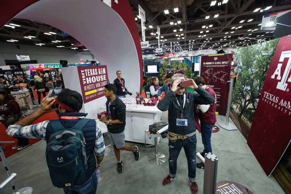 Using VR at Trade Shows