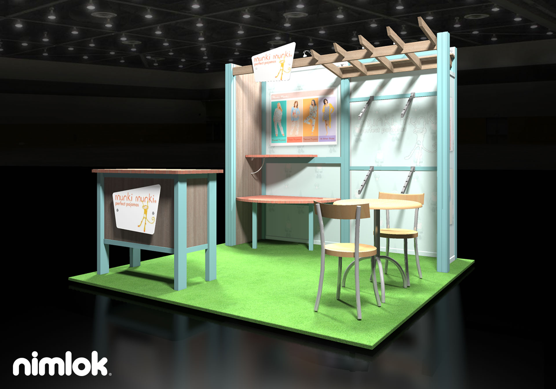 Portable Exhibition Booth : Success at your first trade show tips for time