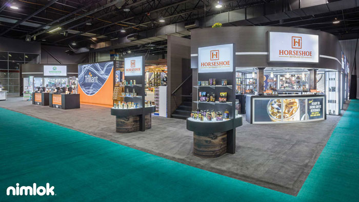 Trade Show Booth Objectives : Design a stunning trade show product display in steps nimlok
