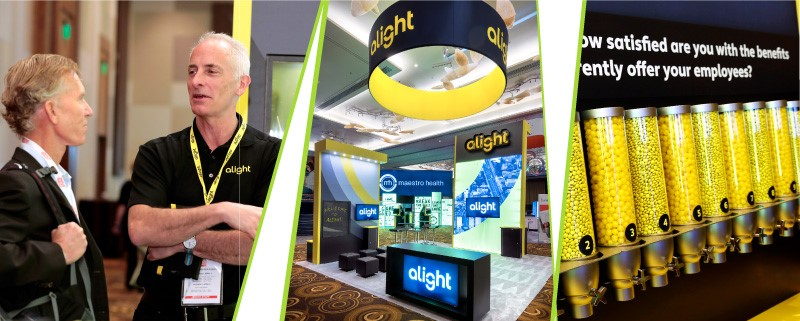 branded booth and branded apparel improve trade show roi